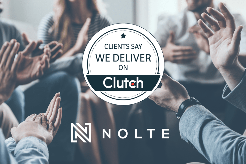 Nolte Web Development Agency Clutch Award